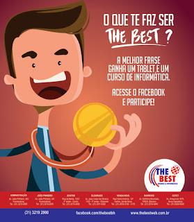 """Concurso  cultural """"O QUE TE FAZ SER THE BEST"""