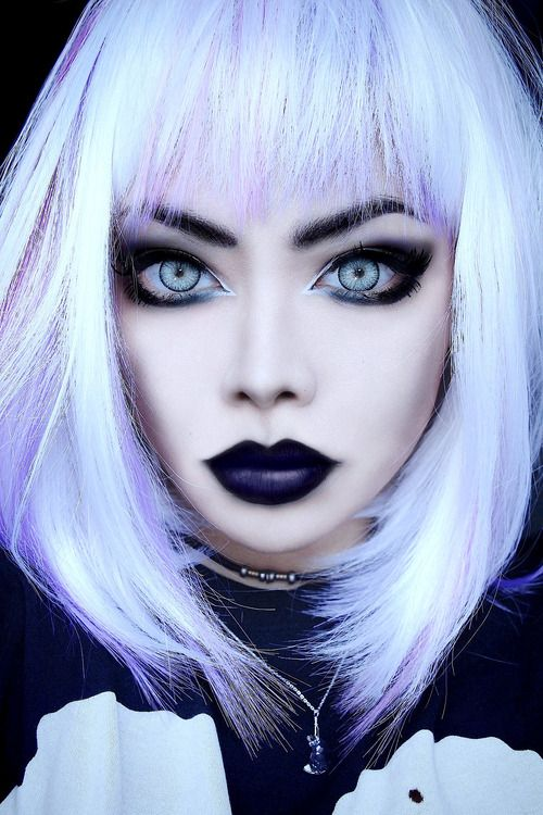 Image Result For Short Goth Hairstyles