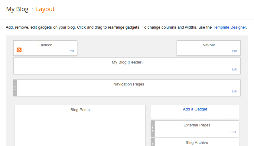 Pages+Widget Making it easier to manage pages on your blog