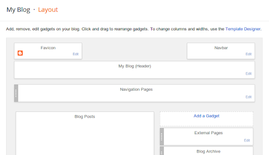 Making it easier to manage pages on your blog