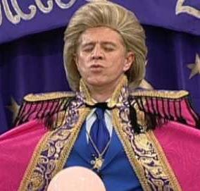 Walter Mercado foi satirizado em episódio do Sai de Baixo reprisado pela Globo no último sábado, dia 2