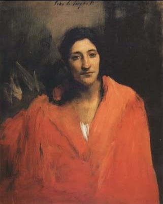 John Singer Sargent - Gitana - c. 1875