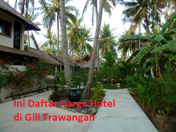 Daftar Tarif Hotel Di Gili Trawangan