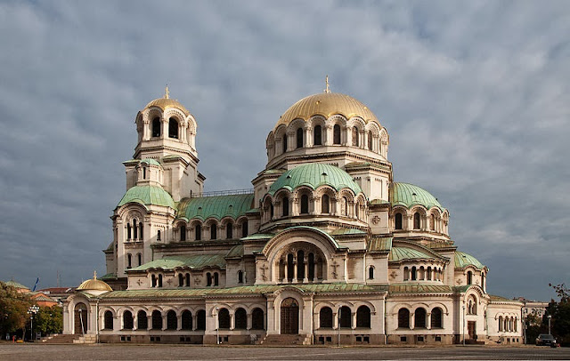 The Saint Alexander Nevsky Cathedral in Sofia dates back to 1882. Photo: WikiMedia.org.