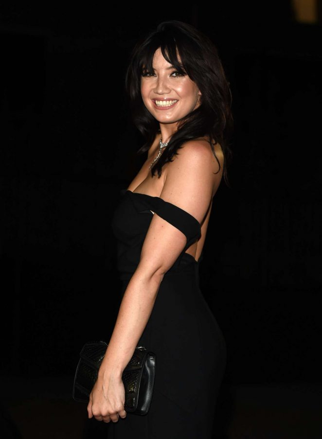 Daisy Lowe oozes sex appeal at the GQ Men of the Year Awards 2016