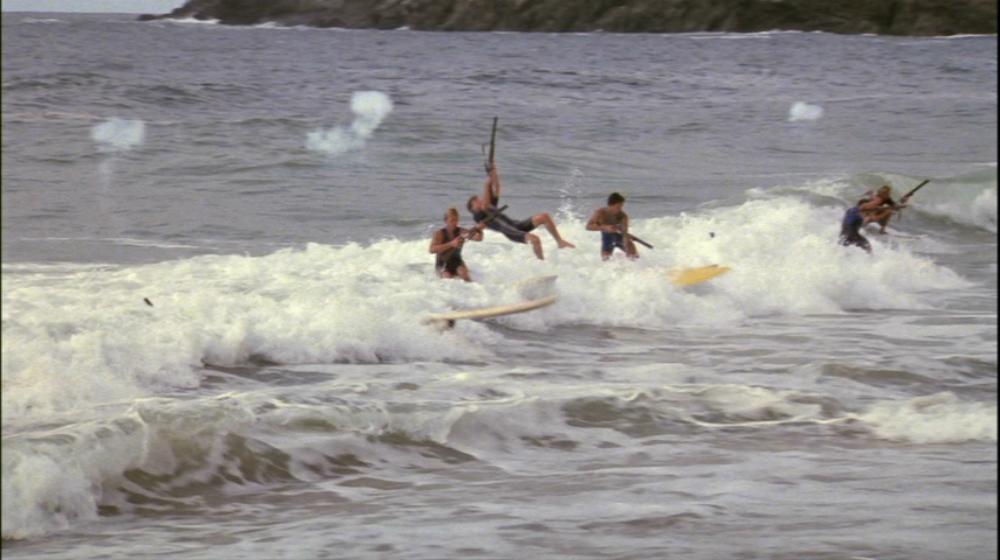 top secret - surf scene
