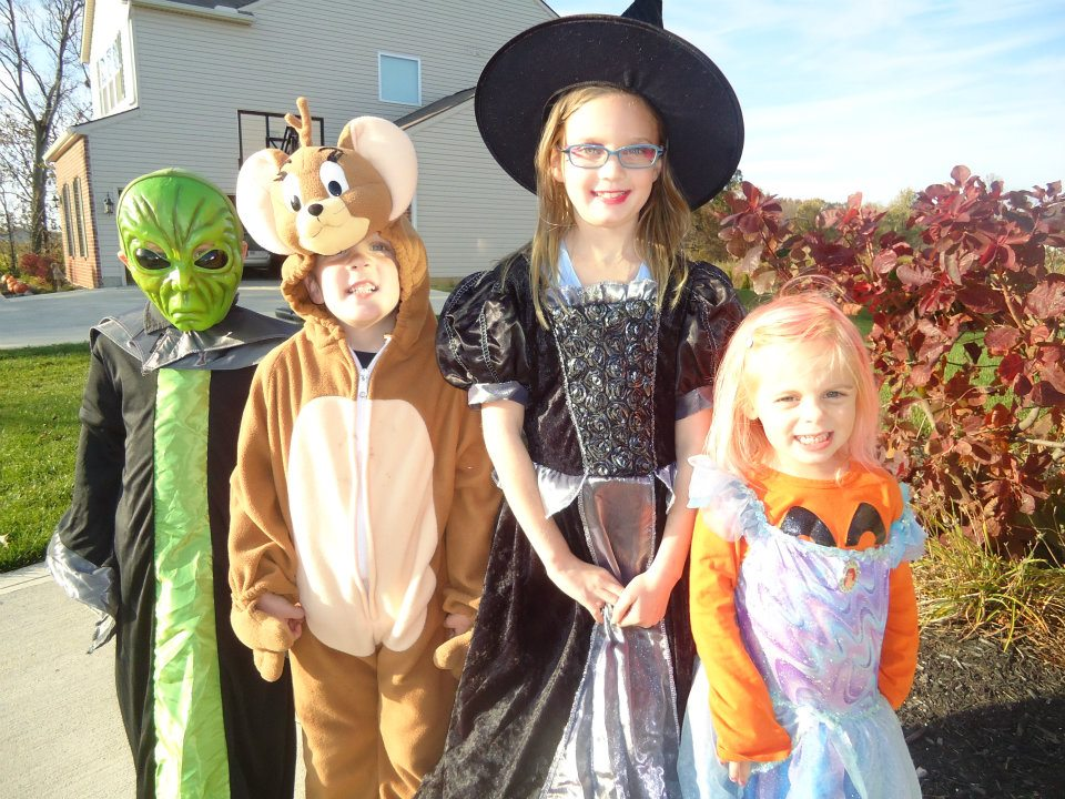 Seth and Isabelle went to a Halloween party with our next door neighbors and had a ton of fun! Isabelle was a witch and Seth was Jerry (from Tom u0026 Jerry).  sc 1 st  Our C&bell Clan & Our Campbell Clan: October 2011