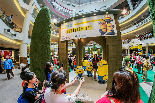 Minions Roadshow @ Mid Valley Megamall
