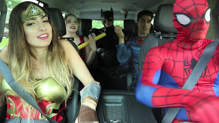Driving to Comic Con