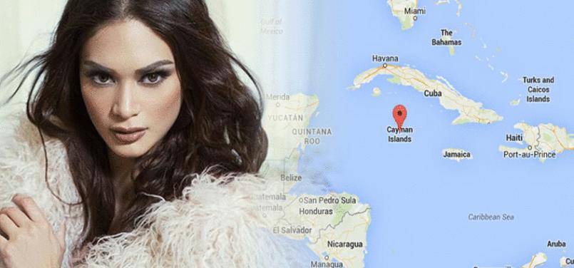Pia Wurtzbach will be heading to Cayman Islands