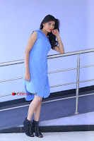 Telugu Actress Mounika UHD Stills in Blue Short Dress at Tik Tak Telugu Movie Audio Launch .COM 0108.JPG