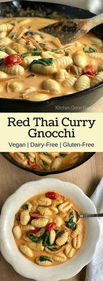 Red Thaì Curry Gnocchì