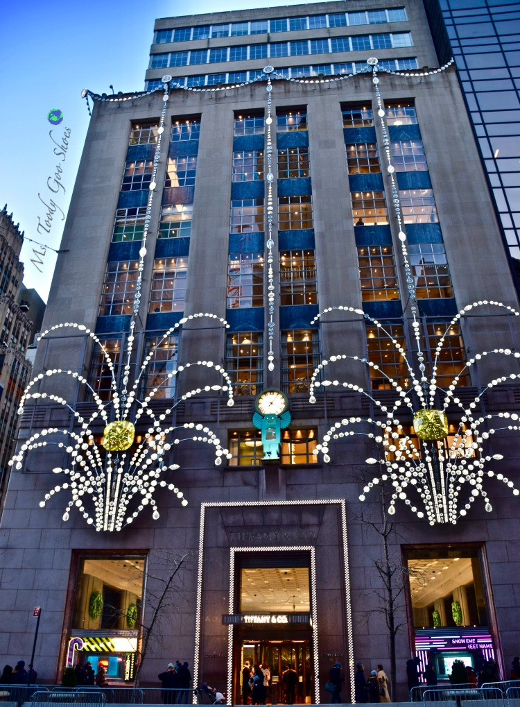 Tiffany's: One of 10 Must- See Holiday Sights in Midtown, New York City | Ms. Toody Goo Shoes