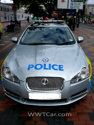 Car of the Day # 23 Jaguar XF Police Car