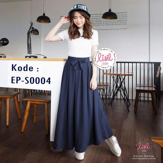 Model Rok Wanita Maxi Skirt Kekinian Terbaru