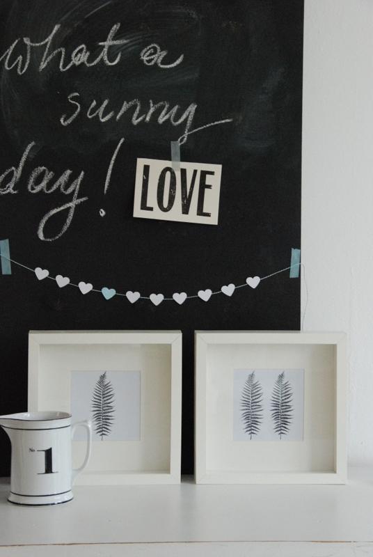 liebesbotschaft schnelle bastelideen give away. Black Bedroom Furniture Sets. Home Design Ideas