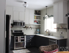 two toned kitchen renovation