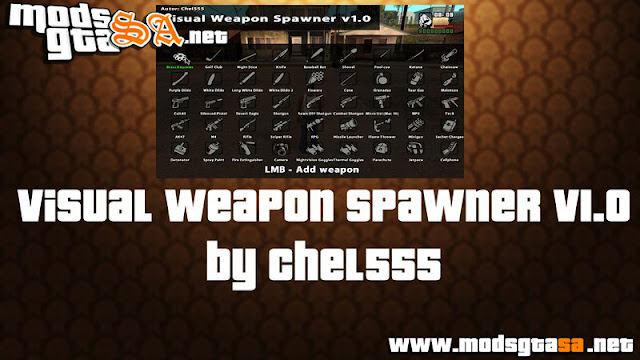 Mod Visual Weapon Spawner V1.0
