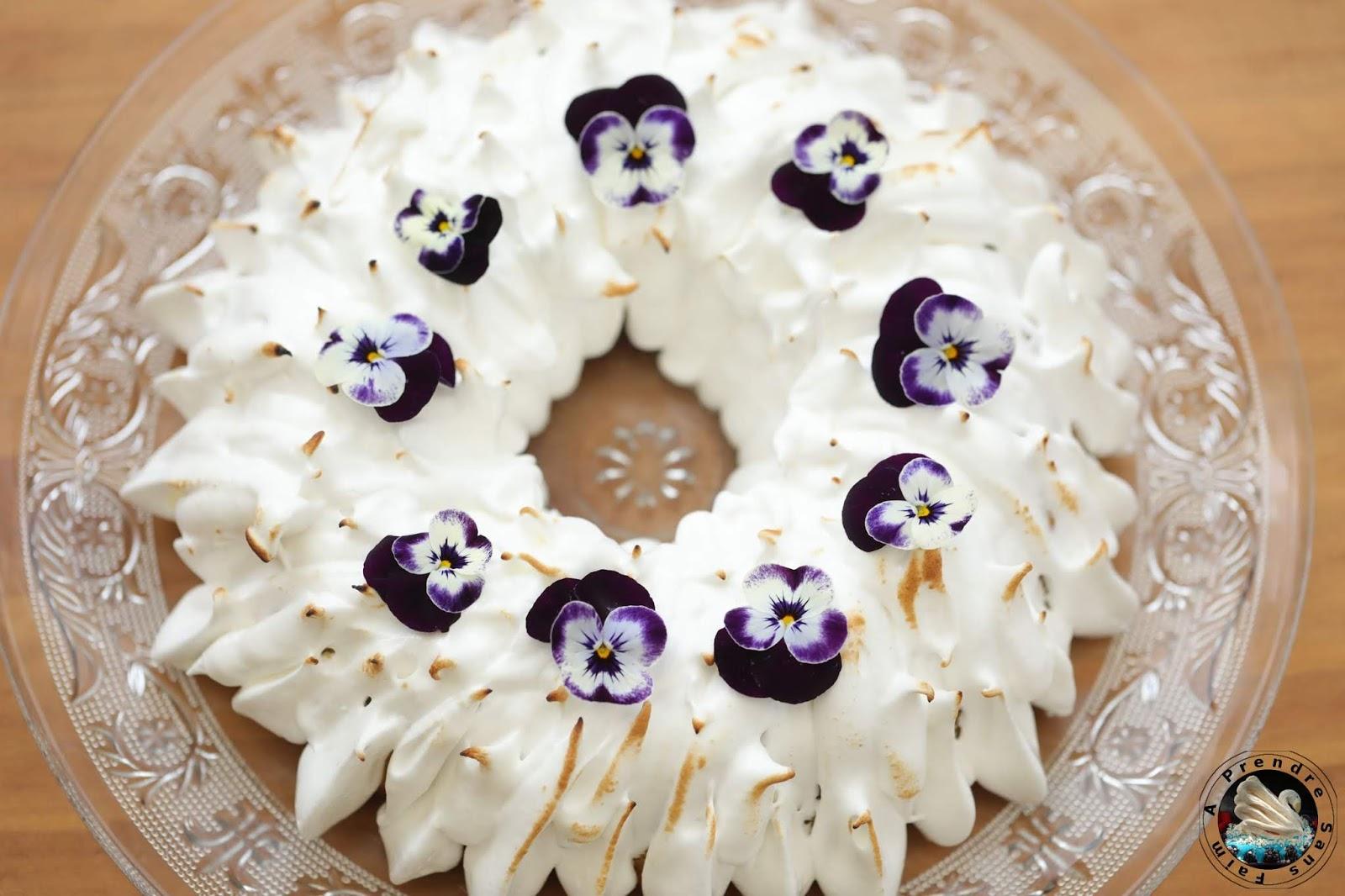 Bundt cake meringué au citron