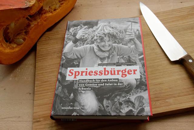 Für Sie entdeckt: Spriessbürger, Handbuch für den Anbau von Gemüse und Salat in der Schweiz