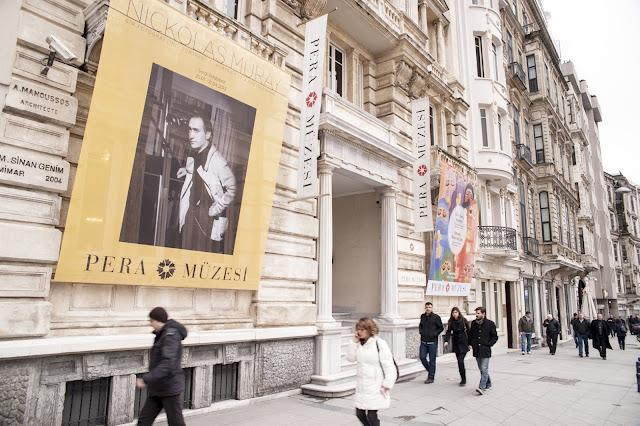 Museu Pera em Istambul na Turquia