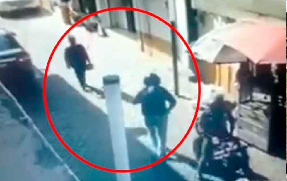 Graban ejecucion de mujer policía al salir del banco en Tecámac
