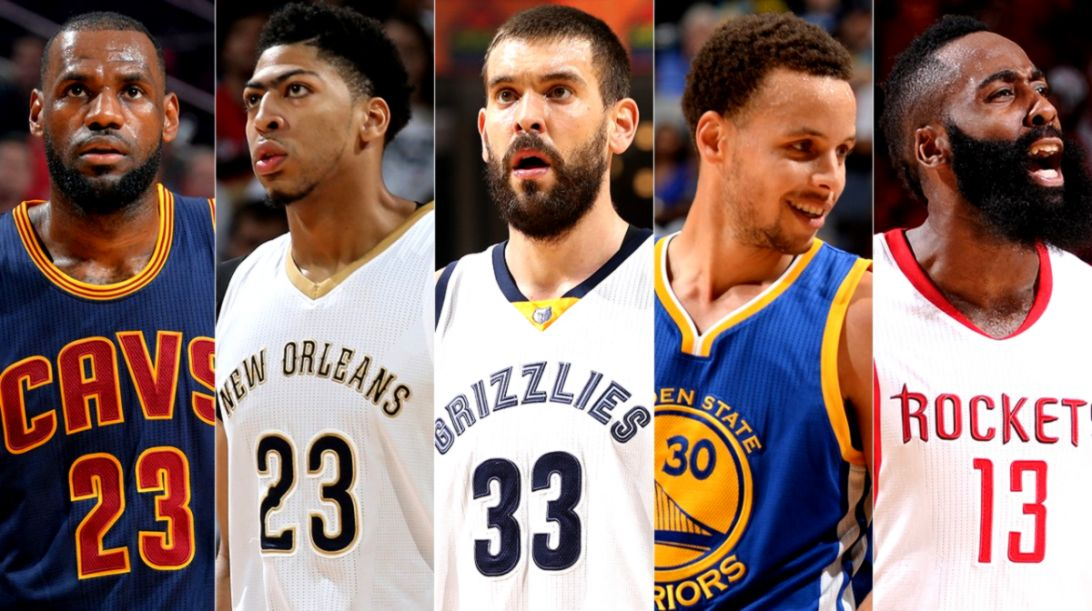 Warriors Curry and Cavaliers James unanimous picks for 2014 15