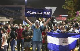 At least one dead  Nicaraguan protesters