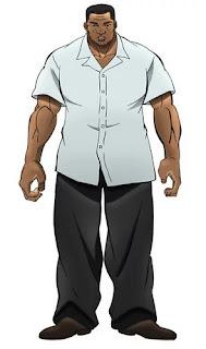 """el anime """"Baki"""""""