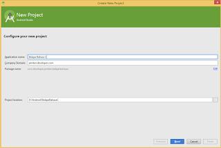 Tutorial Material Design Android Studio untuk Pemula #Part 1