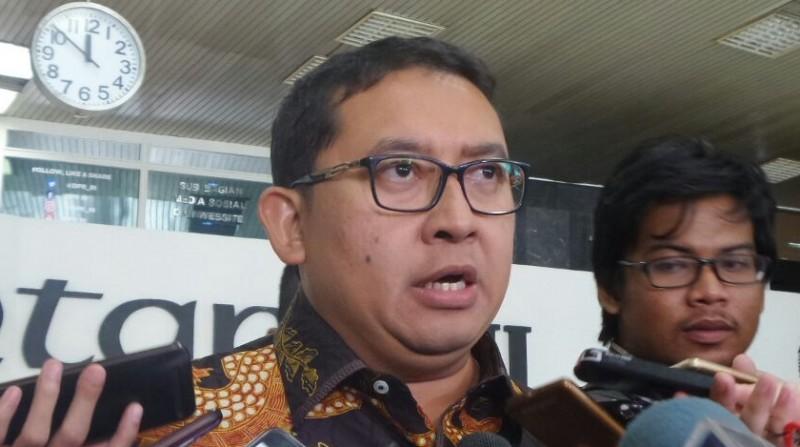 Wakil Ketua DPR RI Fadli Zon di Kompleks Parlemen