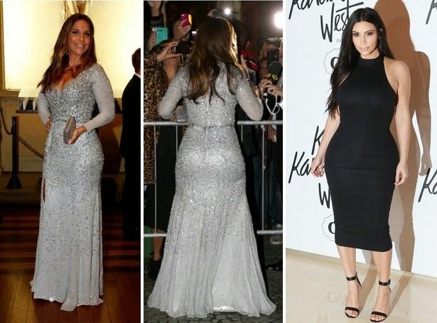 Ivete Sangalo casamento da Preta Gil, e Kim Kardashian