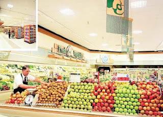 seccion frutas supermercado