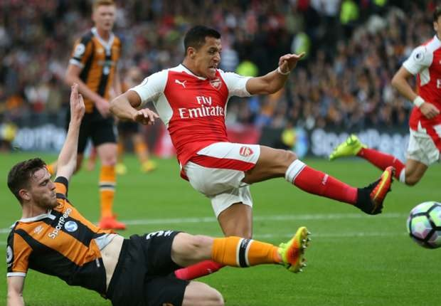 Hull City 1-4 Arsenal: Gunners stroll to victory over 10 man hosts