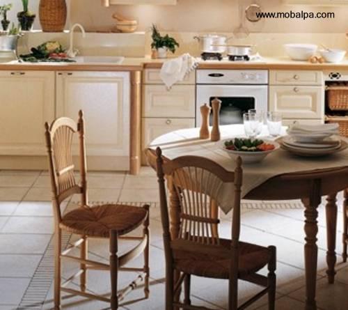 Arquitectura de casas una hermosa cocina moderna y cl sica for Casa clasica moderna interiores