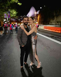 Virat Kohli and Anushka celebrated the New Year on the streets of Sydney, See pictures