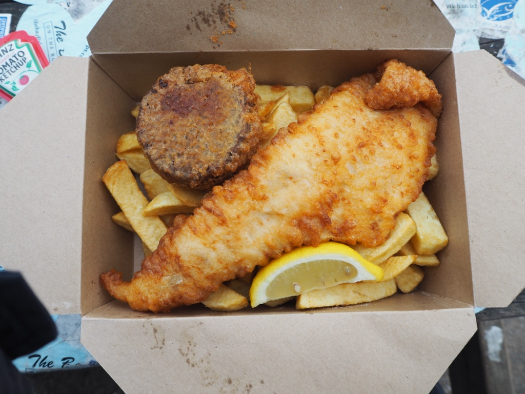 A long weekend in aberdeenshire pt 1 charlie distracted for Bettys fish and chips