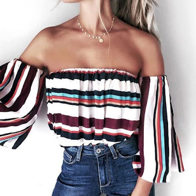 Fashion Friday - Off the Shoulder Tops!