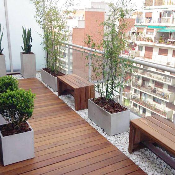 Guia de idéias para decoração de sacadas, varandas e terraços - Blog Achados de Decoração