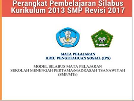 Silabus dan RPP K13 SMP IPS Revisi2017 Pdf