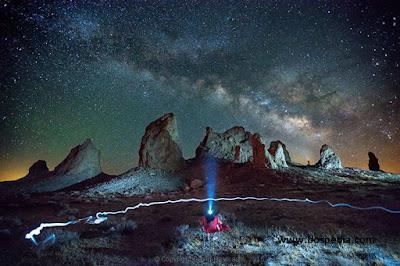 Tips Mendapatkan Photo Milky Way atau Bima Sakti b Tips Memotret Milky Way atau Bima Sakti bagi Pemula