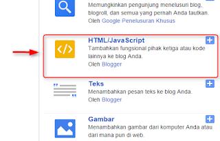 Cara memasang badges profile facebook di blogger