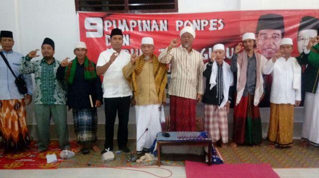 Ulama Paer Tengaq Doakan Jokowi-Cak Imin