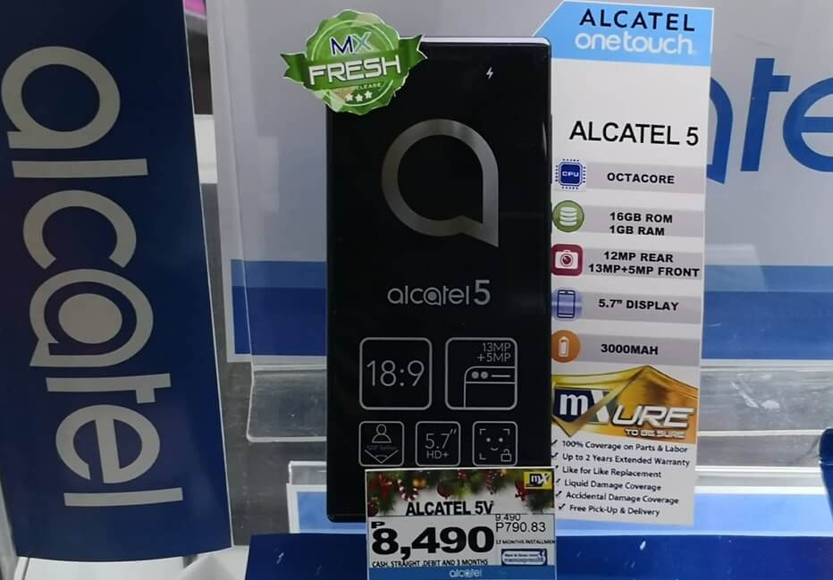 Alcatel 5 Lands in the Philippines for Php8,490