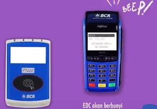Bayar (Transaksi) Menggunakan Kartu BCA Flazz Pada EDC