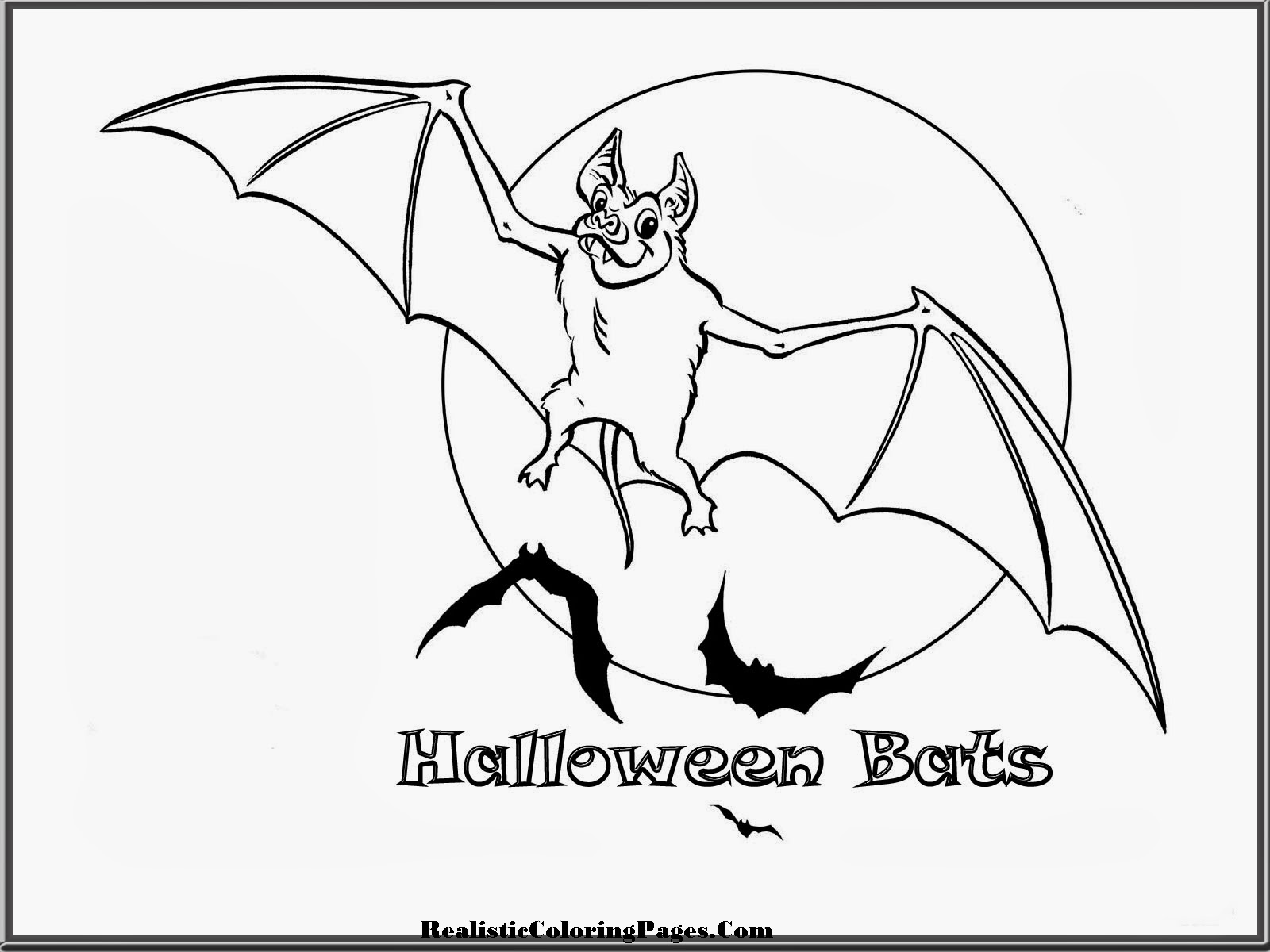 Coloring: Realistic Halloween Coloring Pages