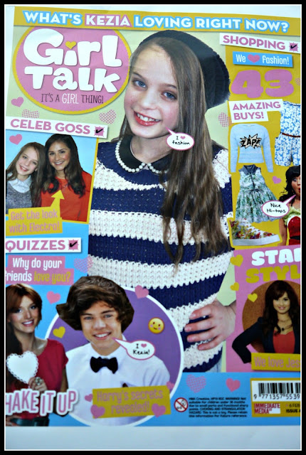 magazine, Girl talk