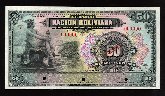 50 Bolivianos banknote cash bill currency money