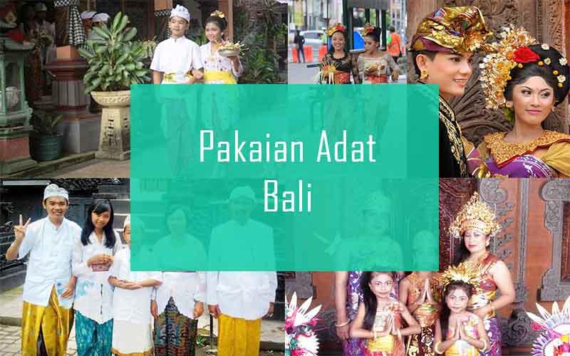 Inilah Pakaian Adat Dari Provinsi Bali (Pria dan Wanita)