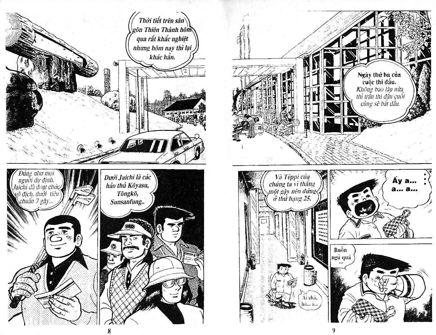 Ashita Tenki ni Naare chapter 28 trang 3